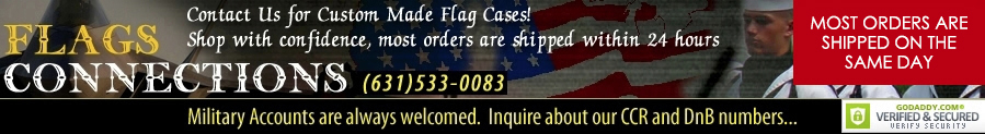 Flag Display Cases, Burial Flag Frames, Flag Medal Displays, Veteran Flag Frames